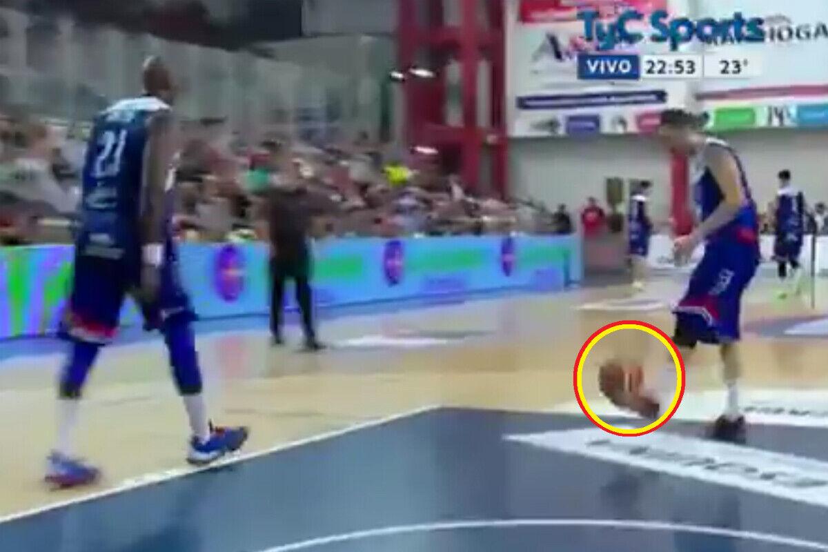 El jugador con espíritu de futbolista de la Liga Argentina de Baloncesto