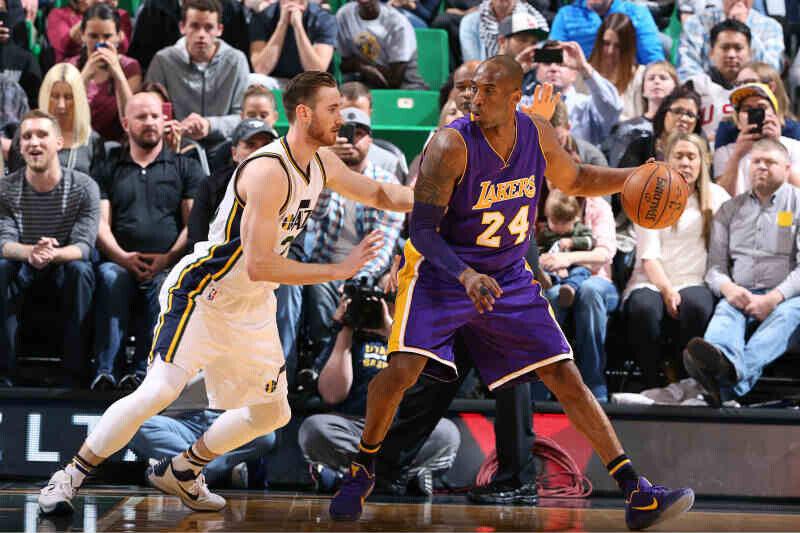 kobe bryant de Los Angeles Lakers
