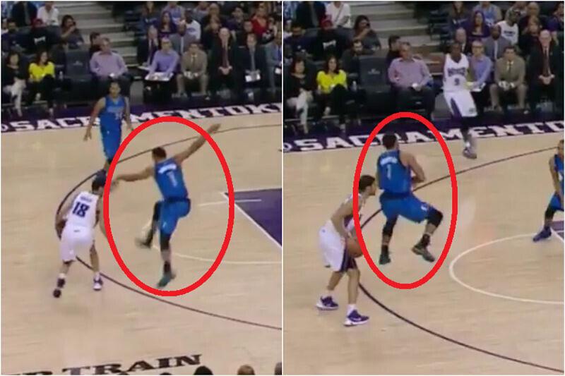 Omri Casspi hace pasar penurias al defensor más ingenuo de la NBA