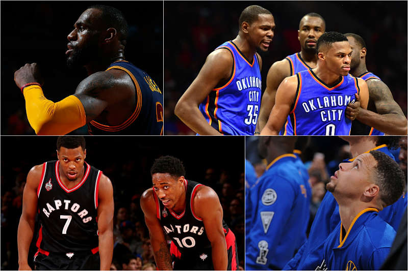 Las estrellas de la NBA para los playoffs