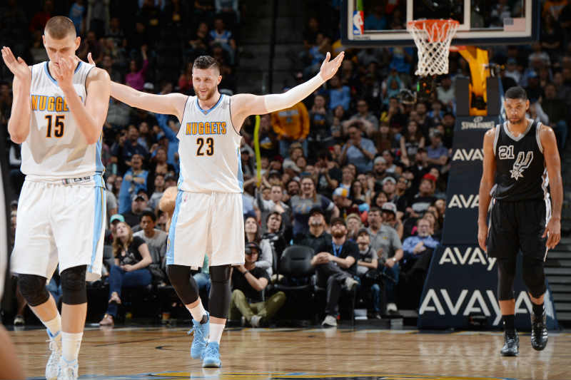 Denver Nuggets vs. San Antonio Spurs