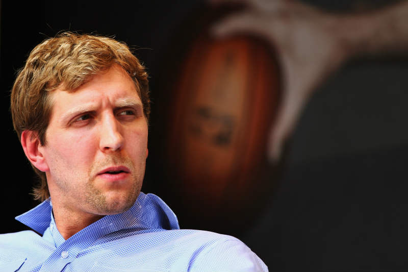 Dirk Nowitzki de Dallas Mavericks