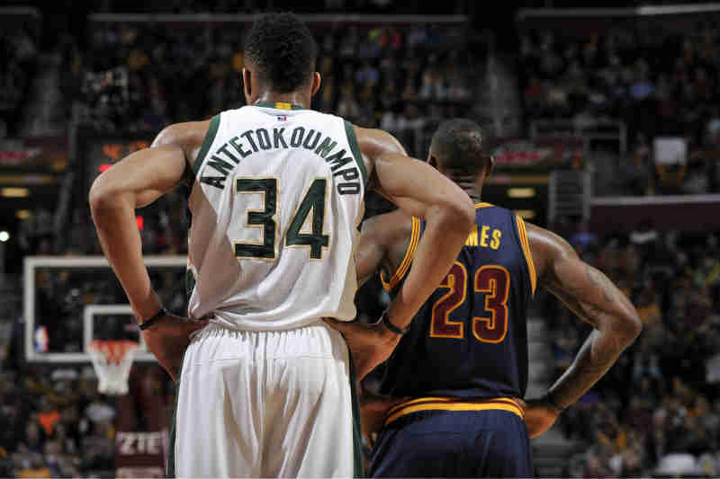 Giannis Antetokounmpo-LeBron James