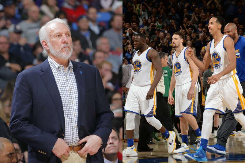 Greg Popovich de San Antonio Spurs