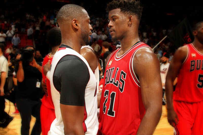 Jimmy Butler de Chicago Bulls
