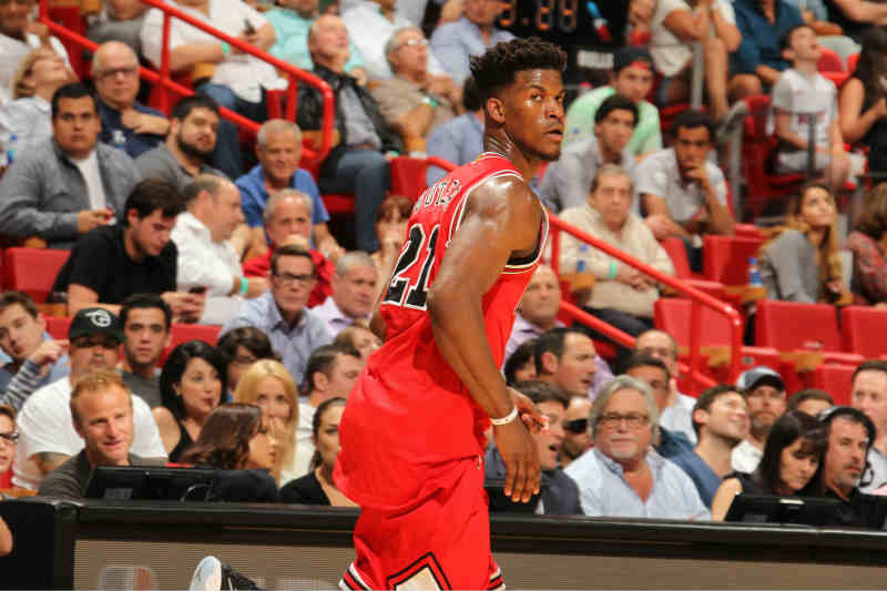 Jimmy Butler de Chicago Bulls