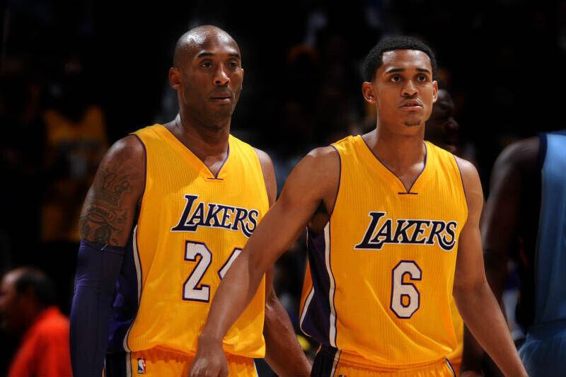 Jordan Clarkson-Kobe Bryant