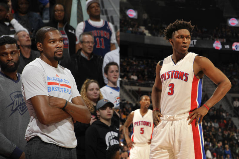 Kevin Durant-Stanley Johnson