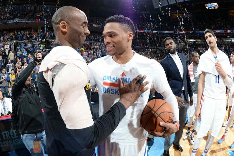 Kobe Bryant-Russell Westbrook
