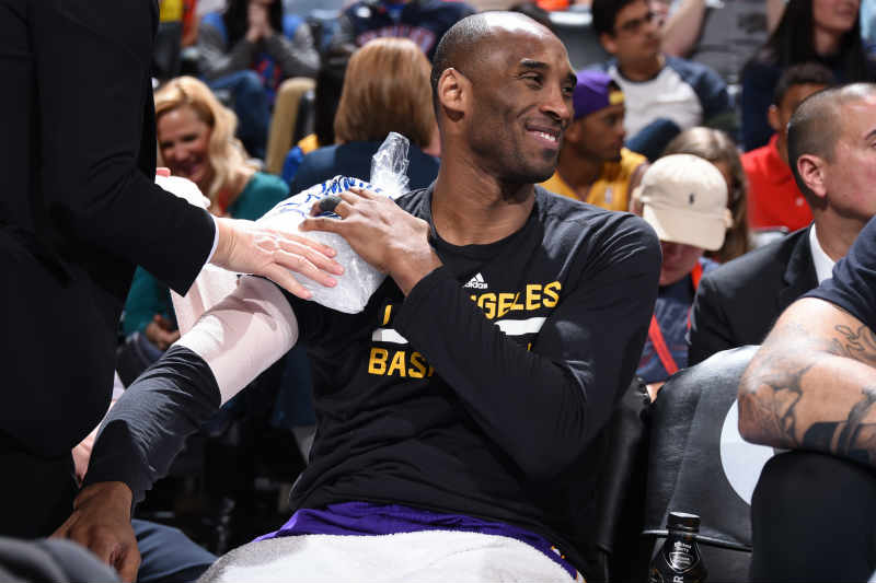 Kobe Bryant golpe