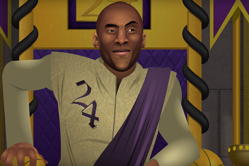 Kobe Bryant al estilo Game of Thrones