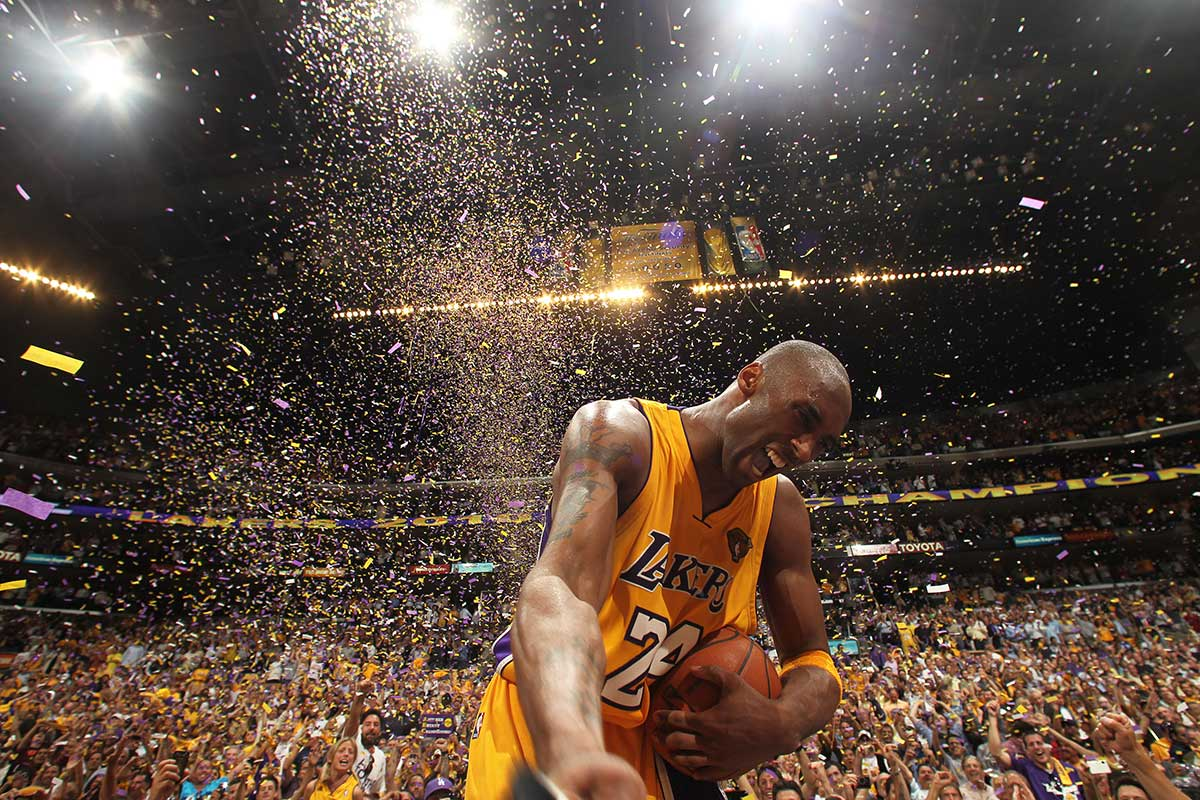 20 años de leyenda en Los Angeles Lakers