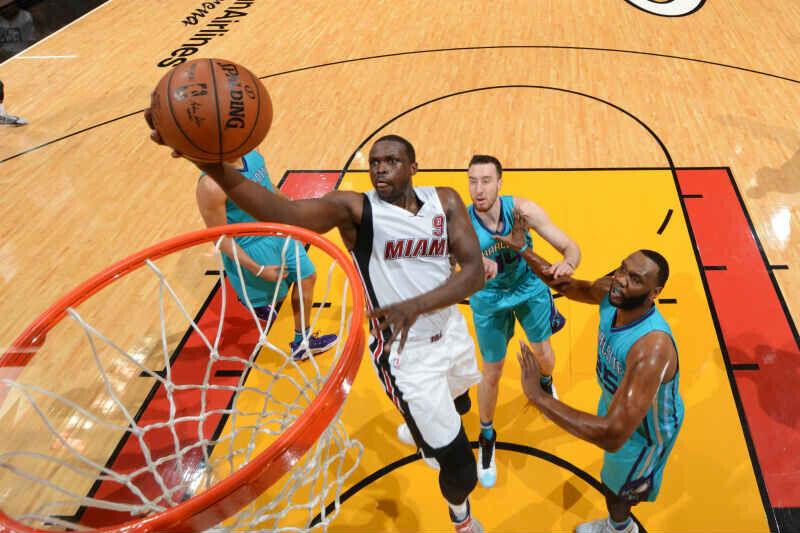 Loul Deng de Miami Heat