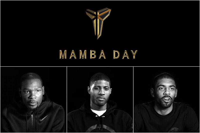 Kobe Bryant, protagonia el Mamba Day