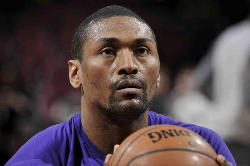 Metta World Peace de Los Angeles Lakers