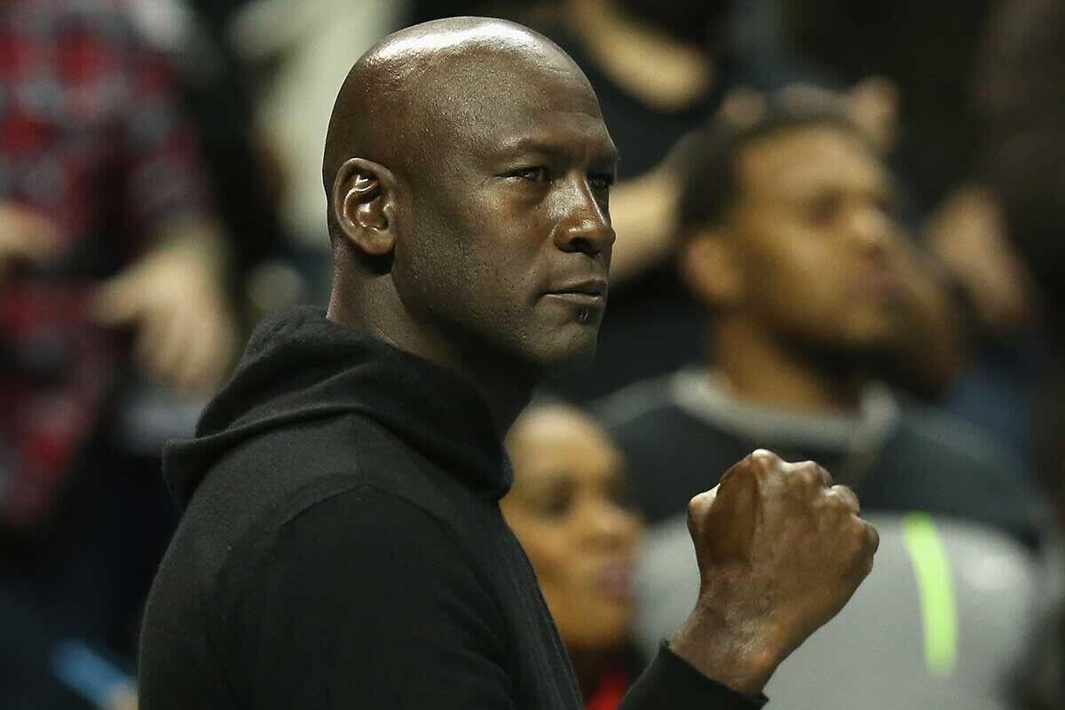 Michael Jordan le dio una lección