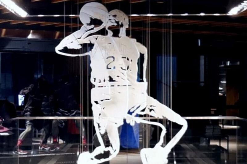 Michael Jordan hecho obra de arte