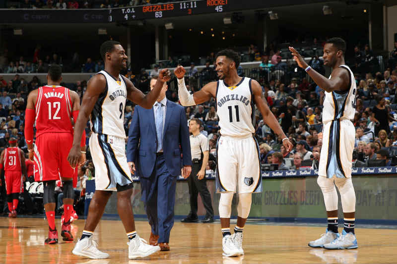Mike Conley, Tony Allen