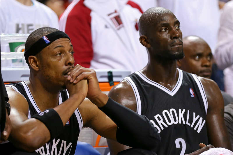 Paul Pierce-Kevin Garnett