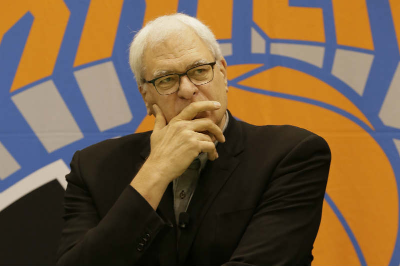 Phil Jackson, presidente de New York Knicks