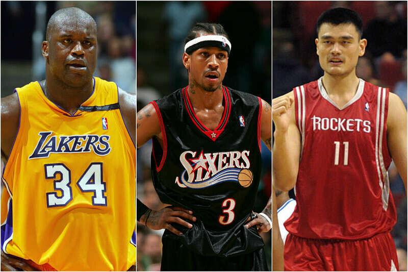 O'Neal, Iverson y Yao entran en el Salón de la Fama
