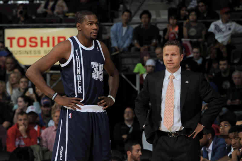 Scott Brooks-Kevin Durant