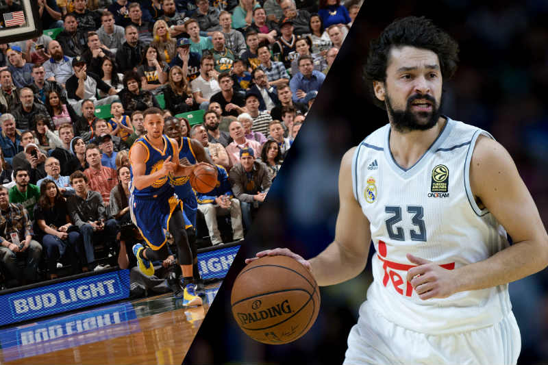 Sergio Llull-Stephen Curry