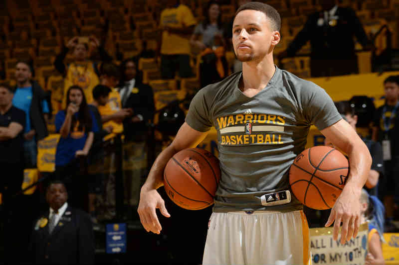 Stephen Curry de Golden State Warriors
