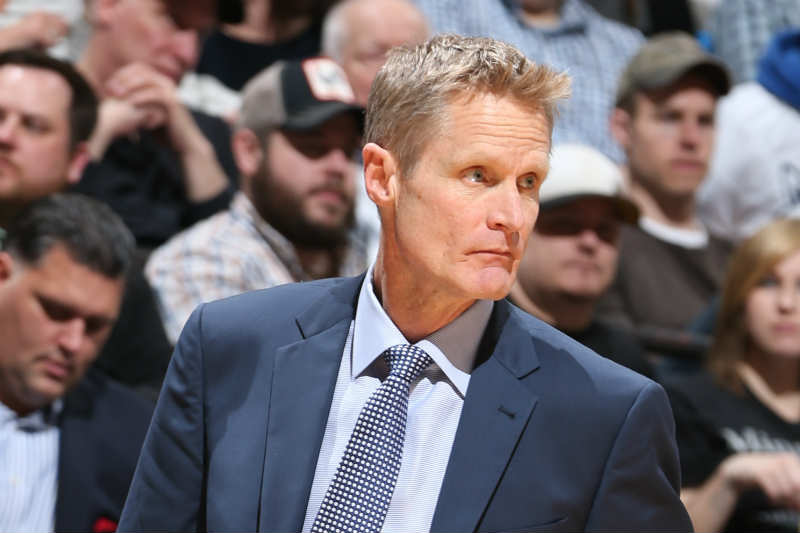 Steve Kerr de Golden State Warriors