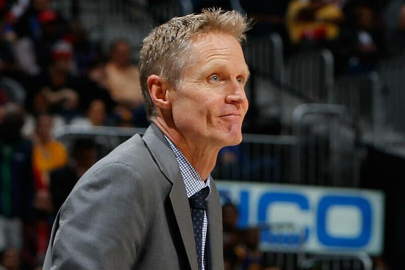 Steve Kerr de Golden State Warriors