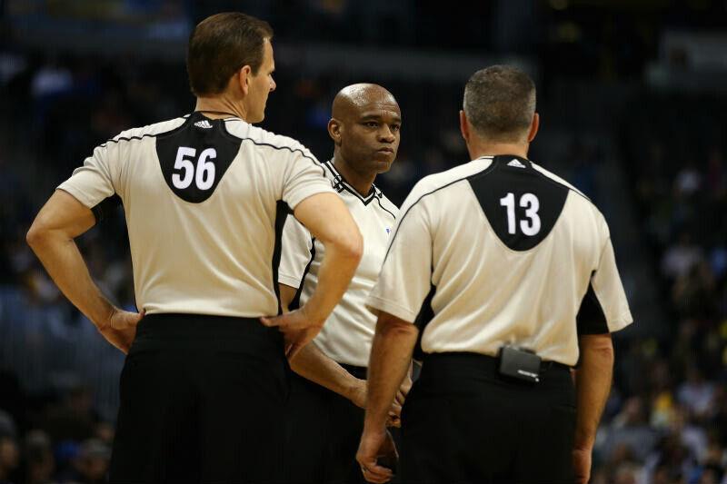 árbitros NBA