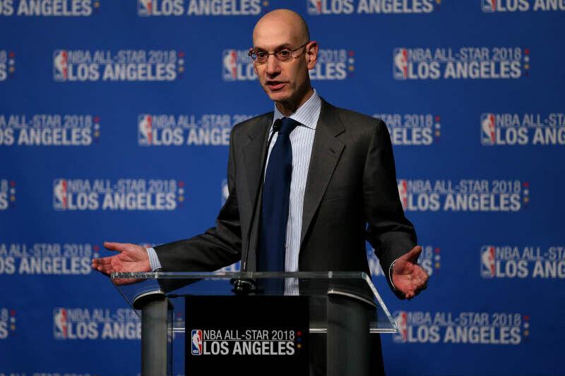 Adam Silver de la NBA
