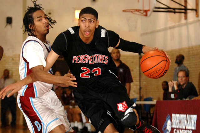 Anthony Davis en el instituto