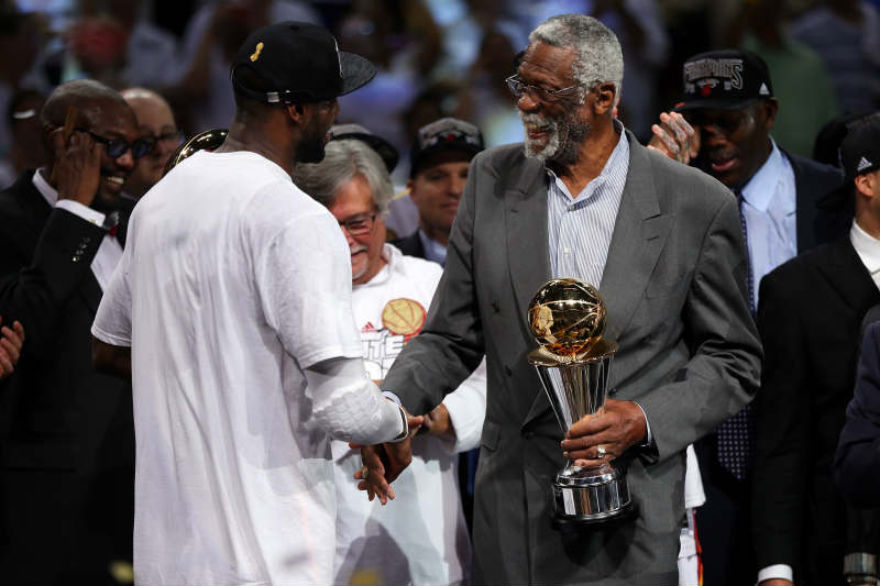 Bill Russell - LeBron James