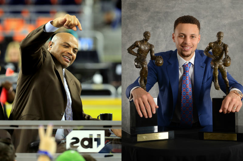 Charles Barkley - Stephen Curry