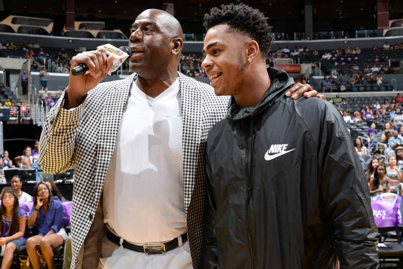 D'Angelo Russell-Magic Johnson