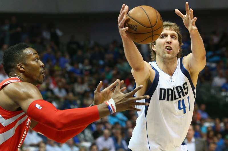 Dirk Nowitzki-Dwight Howard