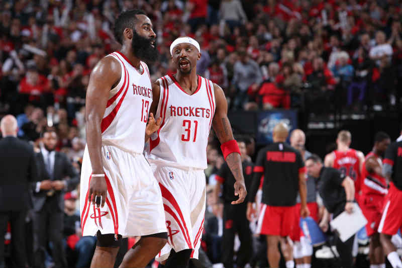 Jason Terry, James Harden