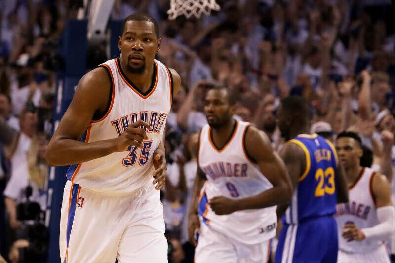 Kevin Durant de Oklahoma City