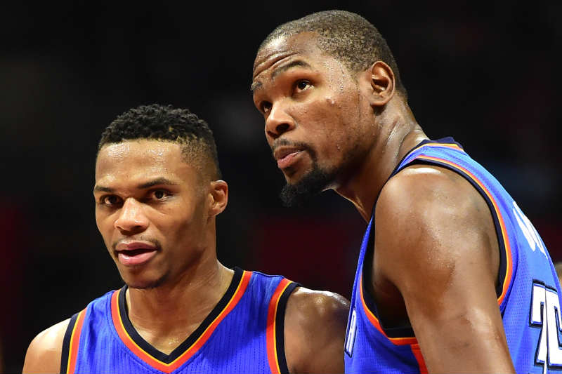 Kevin Durant-Russell Westbrook