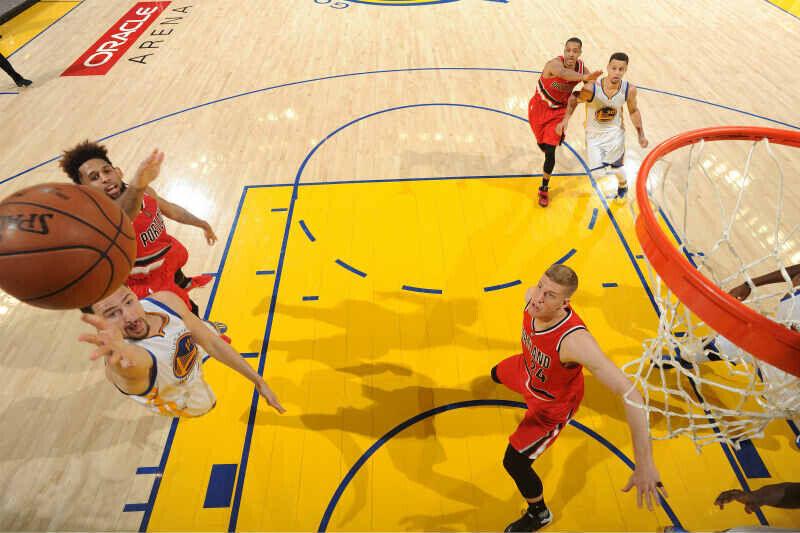 Klay Thompson de Golden State Warriors