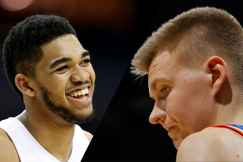 Kristaps Porzingis-Karl-Anthony Towns