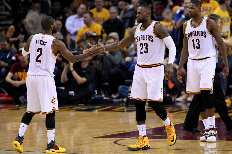 LeBron James-Kyrie Irving