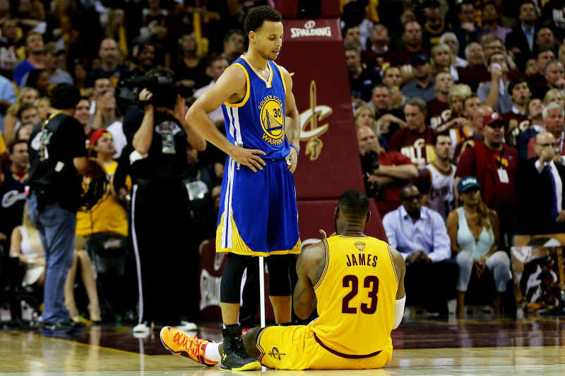 LeBron James-Stephen Curry