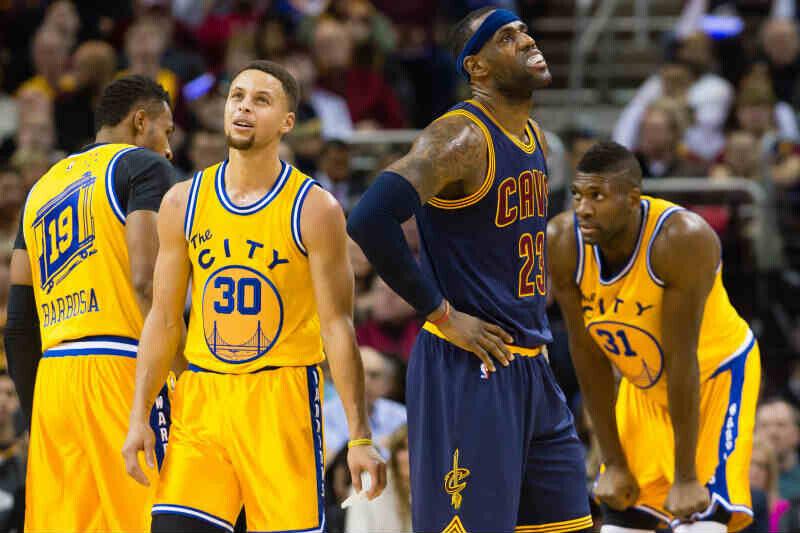 LeBron James-Stephen Curry