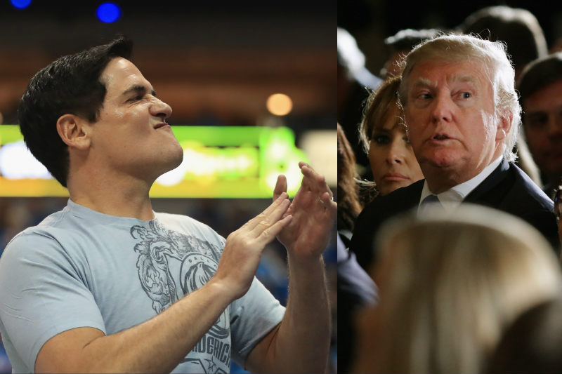 Mark Cuban-Donald Trump