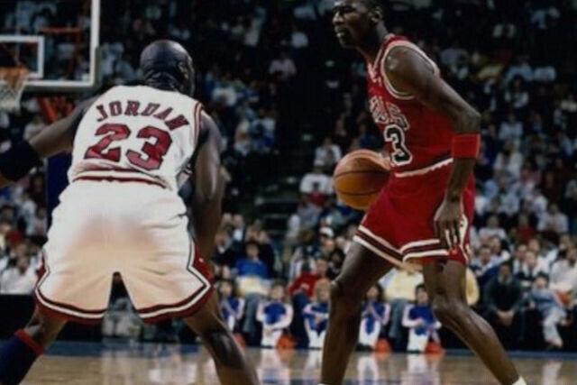Michael Jordan contra Michael Jordan
