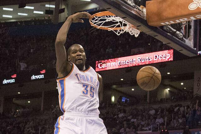 Kevin Durant, protagonista en el NBA Top 5