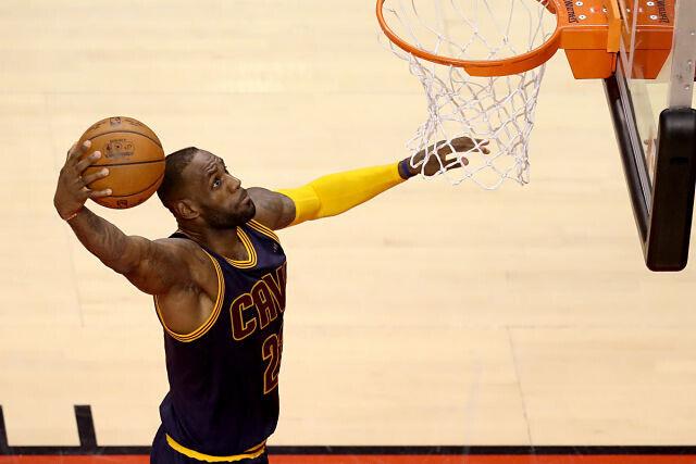 LeBron James en el NBA Top 5