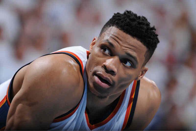 Russell Westbrook de Oklahoma City Thunder